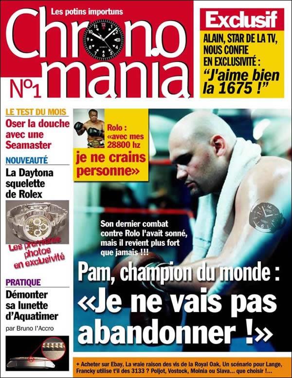 Couv Chronomania mag