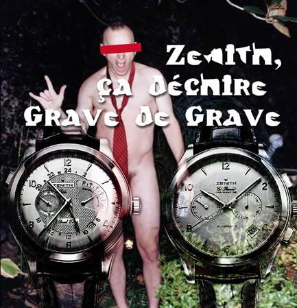 Pub refusée Zenith