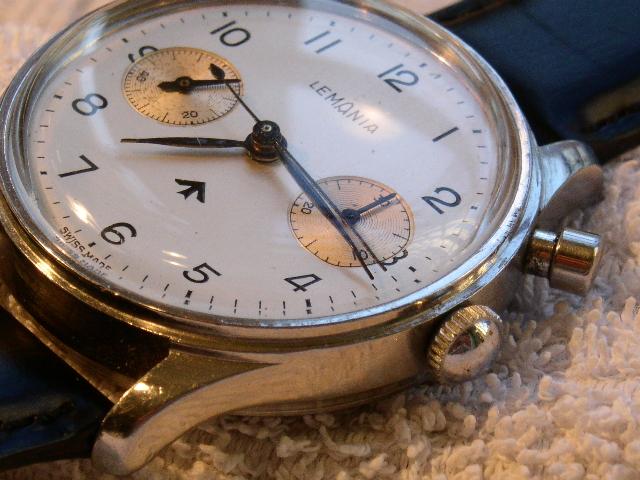 Chronographe Lemania